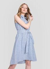 Платье женское O'stin Платье-рубашка в полоску LR5W92-P4