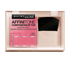Декоративная косметика MAYBELLINE Компактные румяна «Совершенный тон» Affinitone Blush 62 темно-розовый