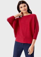 Кофта, блузка, футболка женская O'stin Джемпер с горловиной «лодoчка» LK6T58-19