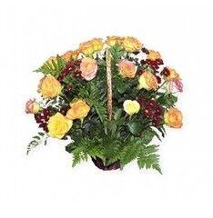 Магазин цветов Планета цветов Корзина с цветами №10