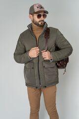 Верхняя одежда мужская Etelier Куртка мужская плащевая утепленная 4М-9794-1