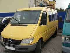 Прокат авто Аренда микроавтобуса Mercedes-Benz Sprinter