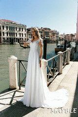 Свадебный салон Bonjour Свадебное платье Mayble из коллекции La Douceur