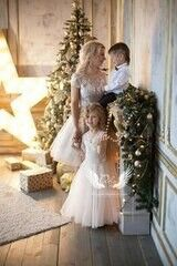 Вечернее платье ALIZA Family Look Gold