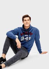 Кофта, рубашка, футболка мужская O'stin Толстовка с воротником-трубой MT4T56-68