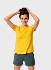 Кофта, блузка, футболка женская O'stin Базовая футболка из хлопка LT6UA1-Y4