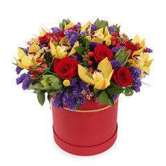 Магазин цветов Cvetok.by Цветочная корзина «Люси»