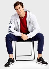Кофта, рубашка, футболка мужская O'stin Толстовка с капюшоном MT4T57-00