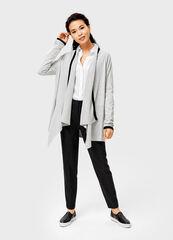 Кофта, блузка, футболка женская O'stin Кардиган женский с контрастными полосками LK4V41-92