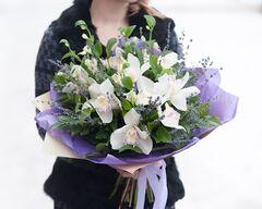 Магазин цветов Цветы на Киселева Букет «Морской прибой»