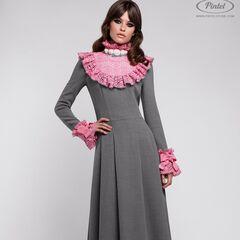 Платье женское Pintel™ Приталенное платье из натуральной шерсти Méeri