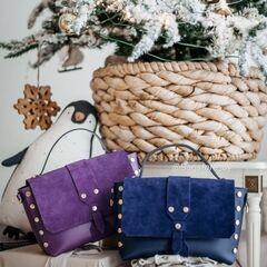 Магазин сумок Vezze Кожаная женская сумка C00408