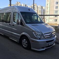 Прокат авто Аренда микроавтобуса Mercedes-Benz Sprinter Silver VIP 8 мест