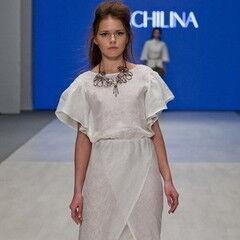 Белорусский дизайнер YANCHILINA Платье 1308
