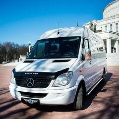 Прокат авто Аренда микроавтобуса Mercedes-Benz Sprinter White