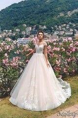 Свадебный салон Bonjour Свадебное платье Stefany из коллекции Royal Luxury 2018