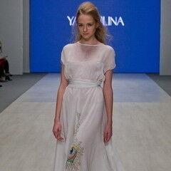 Белорусский дизайнер YANCHILINA Платье 1315