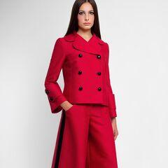 Костюм женский Pintel™ Двубортный костюм из шёлка Candelaria
