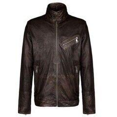 Верхняя одежда мужская Napapijri Кожаная куртка мужская Adair N0Y9MSW94