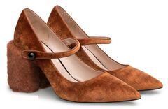 Обувь женская Ekonika Туфли EN1170-04 ginger-18Z