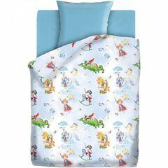 Подарок Унисон Детское постельное бельё Непоседа Отважный герой
