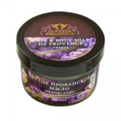 Уход за телом Planeta Organica Густое прованское мыло для волос и тела