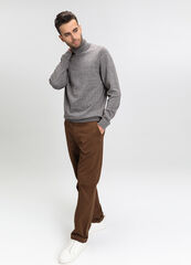 Кофта, рубашка, футболка мужская O'stin Джемпер мужской из кручёной пряжи MK6V74-T6