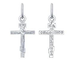 Ювелирный салон Sokolov Крест из серебра 94120134