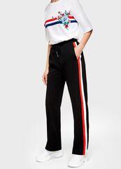 Брюки мужские O'stin Широкие женские брюки с лампасами LL4U31-99