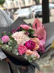 Магазин цветов Цветы на Киселева Букет «Яркая жизнь»