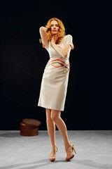Белорусский дизайнер YANCHILINA Платье 1323