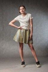 Кофта, блузка, футболка женская MISUTERI Футболка Tishatsu White SS0130
