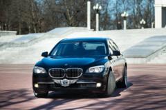 Прокат авто Прокат авто BMW 7-series F02 Black