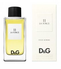 Парфюмерия Dolce&Gabbana Туалетная вода 11 La Force, 100 мл