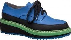Обувь женская Ekonika 2 Полуботинки женские 1011-01 blue, black