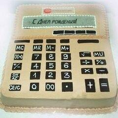 Торт Tortas Торт «Калькулятор»