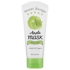 Уход за лицом Missha Очищающая маска-пленка с экстрактом зеленого яблока Secret Recipe Apple Mask