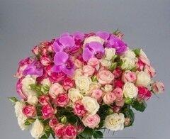 Магазин цветов Florita (Флорита) Букет из кустовых роз