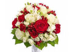 Магазин цветов Долина цветов Свадебный букет №6