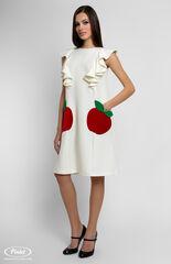 Платье женское Pintel™ Платье А-силуэта с воланами Maja