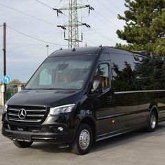 Прокат авто Аренда микроавтобуса Mercedes-Benz Sprinter Black 2019 Touristik