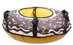 Санки Тяни-Толкай Тюбинг «Шоколадный пончик», 85 см