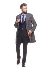 Верхняя одежда мужская HISTORIA Пальто мужское в клетку
