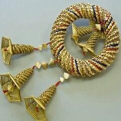 Подарок Славутасць Плетение из соломки « Калач-знак солнца и богатства» 3059
