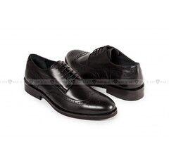 Обувь мужская Keyman Туфли мужские полуброги черные