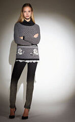 Кофта, блузка, футболка женская Anna Rachele Джемпер ARJ-AI17-18-50