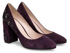 Обувь женская Ekonika Туфли EN1046-03 eggplant-18Z