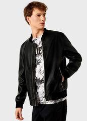 Верхняя одежда мужская O'stin Куртка-бомбер мужская  из искусственной кожи MJ6V43-99
