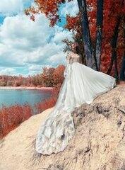 Свадебный салон Papilio Свадебное платье «Лунь» 1752L