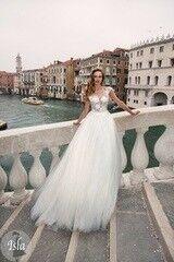 Свадебный салон Bonjour Свадебное платье «Isla» из коллекции LE DELICE 2018